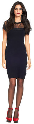 Ted Baker Indrah Lace Detail Dress Black
