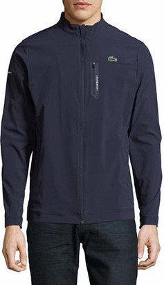 Lacoste Mock Neck Zip Jacket