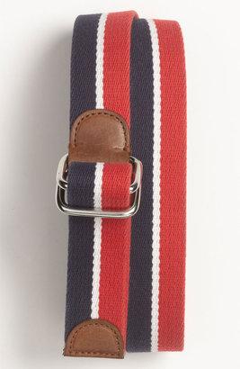 Brooks Brothers Stripe Canvas Belt