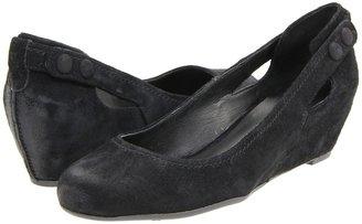 Franco Sarto Ina (Black Suede) - Footwear