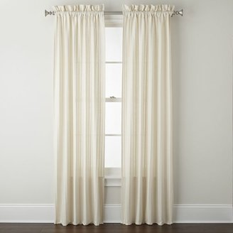 B. Smith Park Jasmine Rod-Pocket Sheer Panel