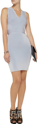 Issa Ribbed stretch-knit dress