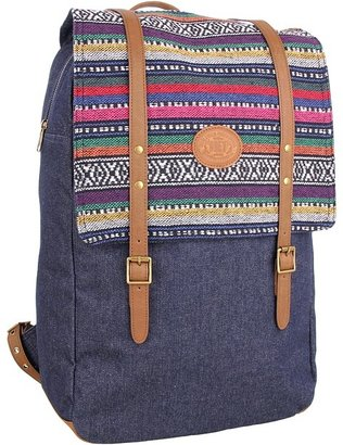 Obey Mojave Map Backpack (Indigo) - Bags and Luggage