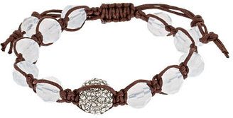 Blu Bijoux Cloud Faceted Shamballa Bracelet