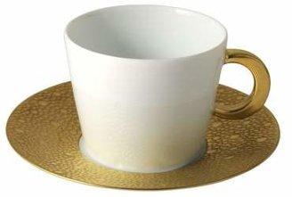 Bernardaud Ecume Gold Teacup