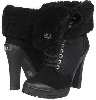 Philip Simon Kevoik Heel (Black Shearling) - Footwear