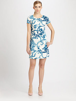 Moschino Cheap & Chic Moschino Cheap And Chic Pottery Print Dress
