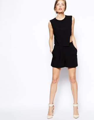 Asos Playsuit with Cutout Detail
