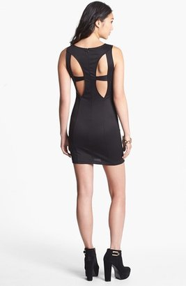 Lush Back Cutout Body-Con Dress (Juniors) (Online Only)