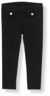 Janie and Jack Button Ponte Pant