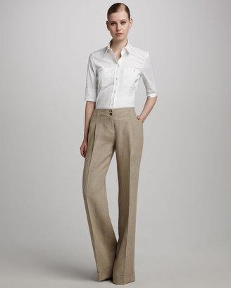 Michael Kors Linen Gauze Trousers