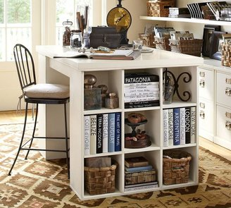 Pottery Barn Bedford Project Table Set