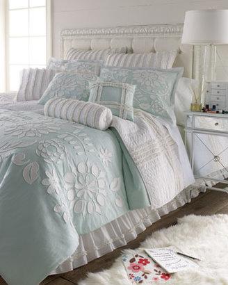 """Dena Home Twin Ruffle Quilt, 86"""" x 68"""""""