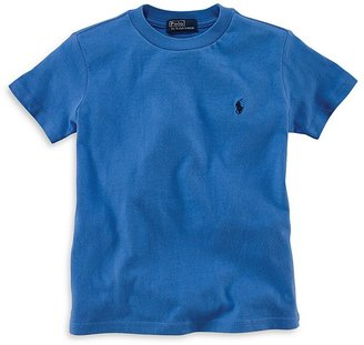 Ralph Lauren Childrenswear Boys' Crewneck Tee - Little Kid