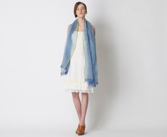 Dosa Slip Dress With Ruffles
