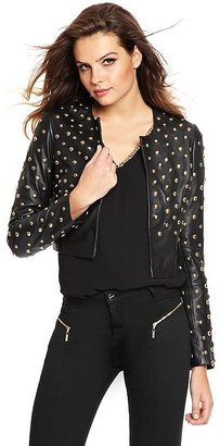 GUESS by Marciano Studded Leather Jacket