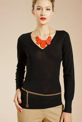 Trina Turk Miss V Sweater