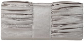 La Regale Ribbed Satin Shiny 24273 Clutch