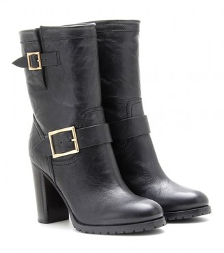 Jimmy Choo DART LEATHER BOOTS