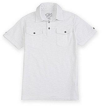 First Wave 8-20 Slub Polo Shirt