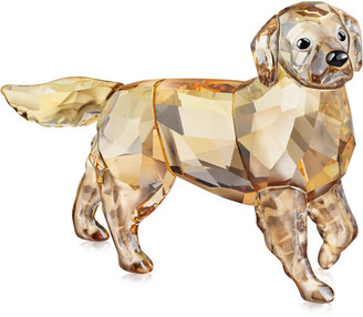 Swarovski Collectible Figurine, Golden Retriever Mother