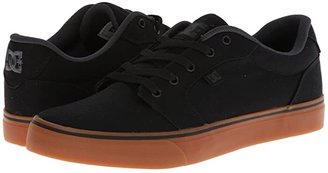 DC Anvil TX (Black/Gum) Men's Skate Shoes