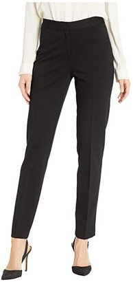Vince Camuto Ponte Skinny Ankle Pants (Rich Black) Women's Casual Pants
