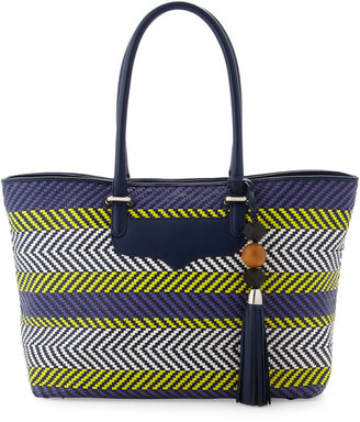 Rebecca Minkoff Collection Perfection Tribal Woven Tote