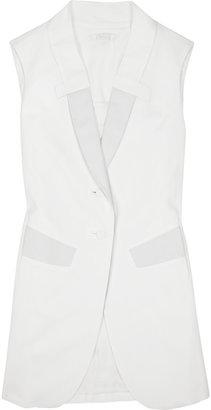 Chloé Armured sleeveless blazer