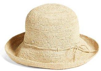 Women's Helen Kaminski '9 Villa' Raffia Straw Hat - Beige $230 thestylecure.com
