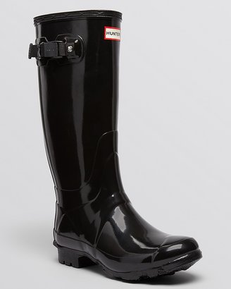 Hunter Rain Boots - Huntress Extended Calf Glossy