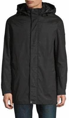 DKNY Hooded Long Sleeve Jacket