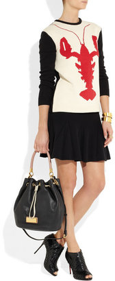 Marc by Marc Jacobs Too Hot To Handle lizard-stamped leather bucket bag