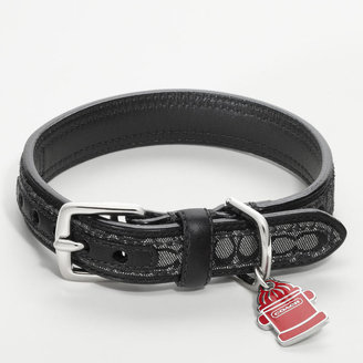 Coach Signature Collar With Fire Hydrant