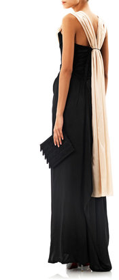 Vivienne Westwood Ball tie-back silk gown