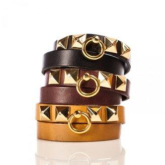 Linea Pelle Grayson Double Wrap Bracelet