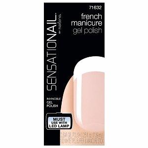 French Manicure Sensationail Gel Polish Clear, Clear