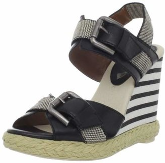 Gunmetal Women's Caty Wedge Sandal