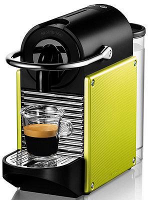 Nespresso C60D60US Espresso Maker, Pixie Lime