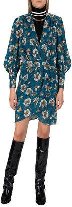 Derek Lam 10 Crosby Freya Paisley Wrap Dress
