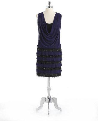 Decode 1.8 Embellished Drapeneck Dress