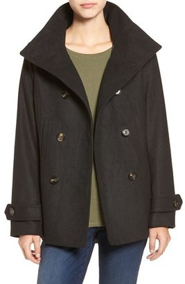 Women's Thread & Supply Double Breasted Peacoat $58 thestylecure.com