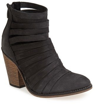 Women's Free People 'Hybrid' Strappy Leather Bootie $198 thestylecure.com