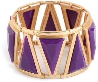 BaubleBar Violet Trillion Cuff
