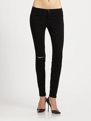 J Brand Shadow Distressed Skinny Jeans
