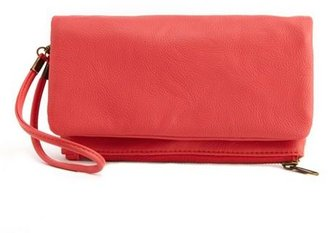 Charlotte Russe Fold-Over Convertible Bag