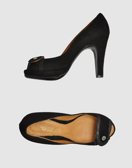 Maloles Pumps with open toe