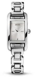 HUGO BOSS Stainless Steel Rectangular Bracelet Strap Watch
