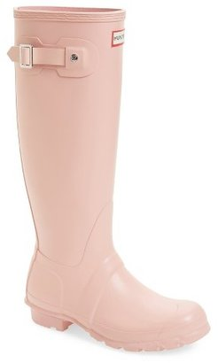 Women's Hunter 'Original Tall' Rain Boot $150 thestylecure.com