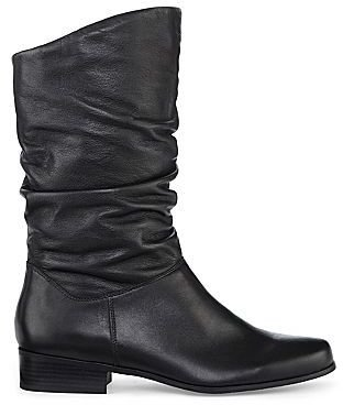 JCPenney St. John's Bay® Jamie Slouch Leather Boots